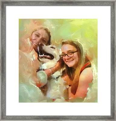 Joyful Afternoon Framed Print by Patricia Taylor