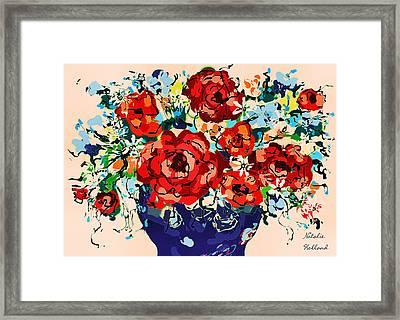 Joyful Delight Framed Print