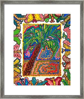 Joyful Flight - II Framed Print