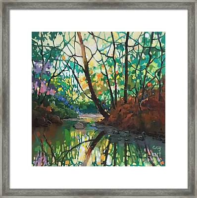 Joyful Morning Framed Print