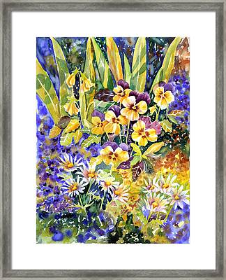 Joyful Noise Framed Print by Ann  Nicholson