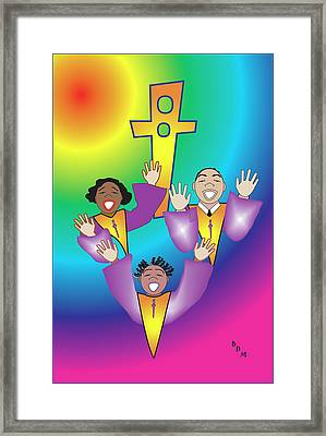 Joyful Noise Framed Print
