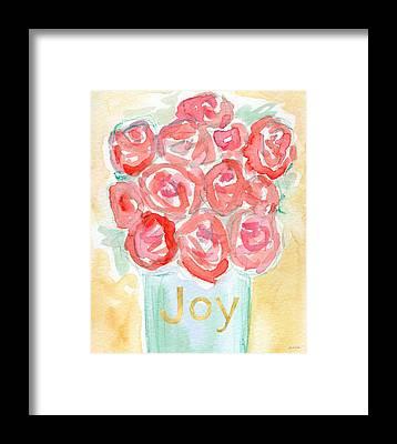 Rose Garden Framed Prints