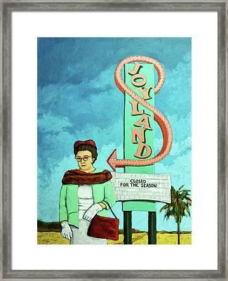 Joyland Framed Print