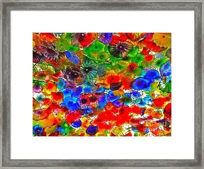 Joyous Sky Framed Print