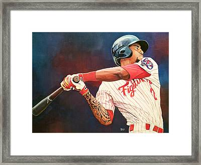 Jp Crawford Framed Print by Michael  Pattison