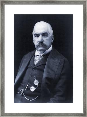 J.p. Morgan 1837-1913 American Banker Framed Print