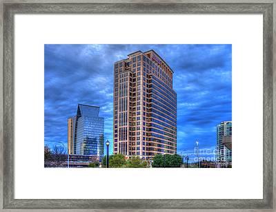 Jp Morgan Company Buckhead Atlanta Art Framed Print