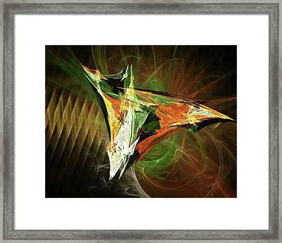 Jpk Digital Abstract 002 Framed Print