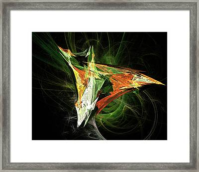 Jpk Digital Abstract 003 Framed Print