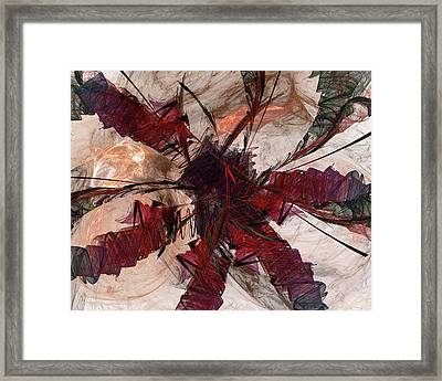Jpk Digital Abstract 004 Framed Print