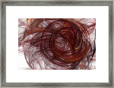 Jpk Digital Abstract 005 Framed Print