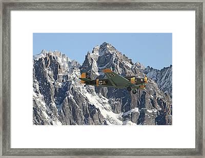 Ju52 - Lutwaffe Stalwart Framed Print