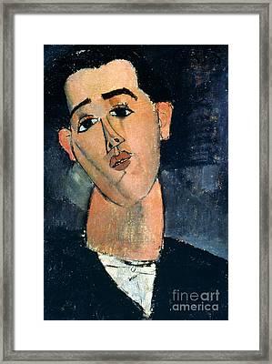 Juan Gris (1887-1927) Framed Print by Granger