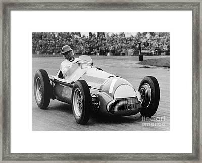 Juan Manuel Fangio  Framed Print