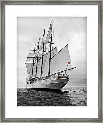 Juan Sebastian De Elcano In Its World Wild Travel Framed Print