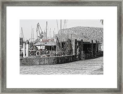 Framed Print featuring the photograph Juanitos by Lawrence Burry
