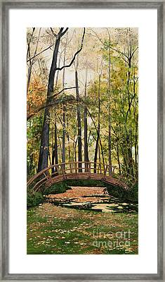 Golden Afternoon Framed Print by Carla Dabney