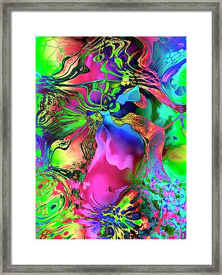 Jubilation Dance Framed Print by Kurt Van Wagner