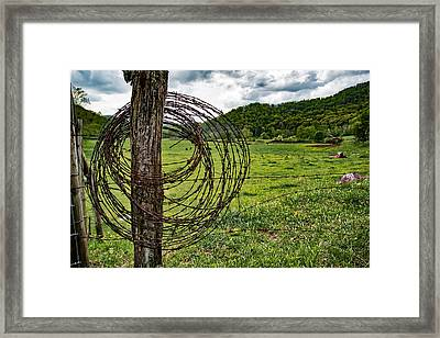 Judaculla Ranch Framed Print