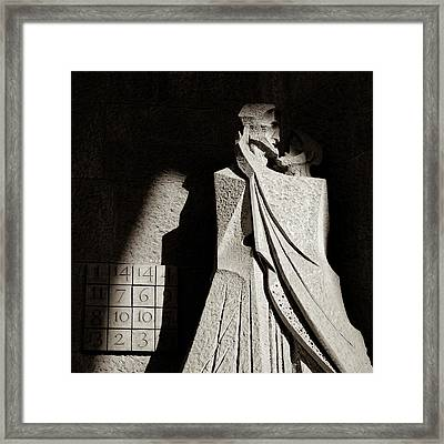 Judas Treason Framed Print by Dave Bowman