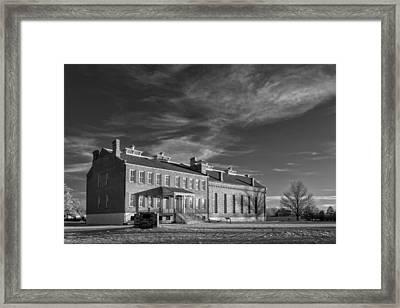 Judge Parker's Courthouse Framed Print by James Barber
