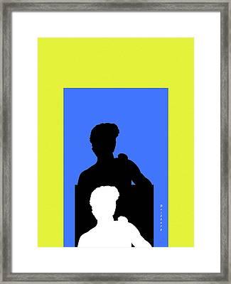 Judgement Framed Print