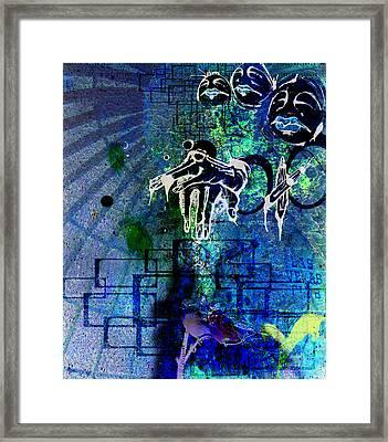 Judges At The Gates Framed Print by Mark M  Mellon