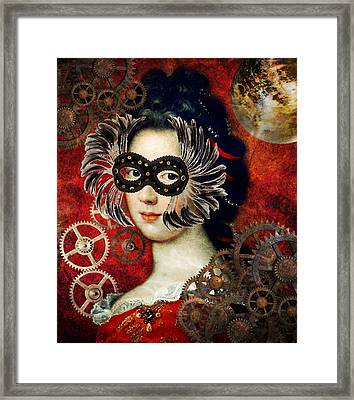 Judging  Framed Print