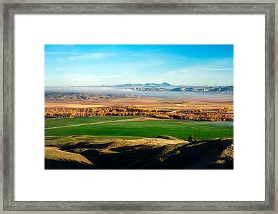 Judith Landing Small Framed Print by Todd Klassy