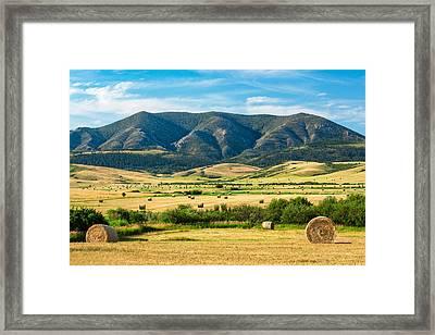 Judith Mountain Memories Framed Print by Todd Klassy