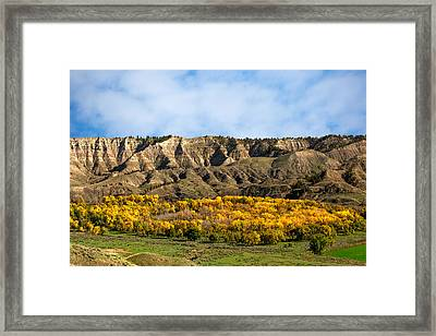 Judith River Autumn Framed Print by Todd Klassy