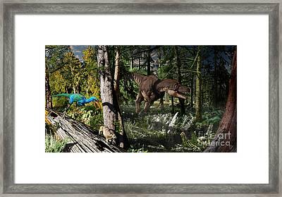 Judithian Montana Mural Framed Print