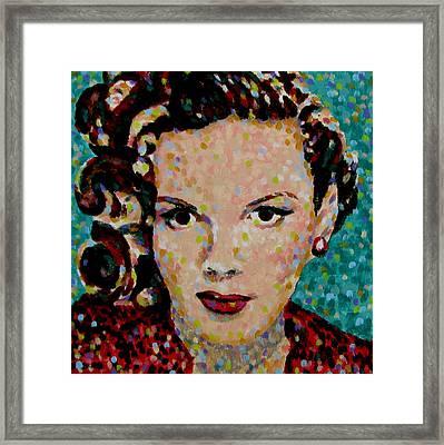 Judy Framed Print