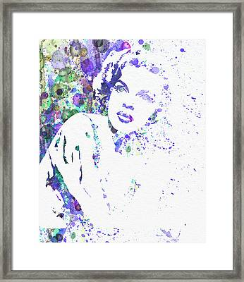 Judy Garland Framed Print by Naxart Studio
