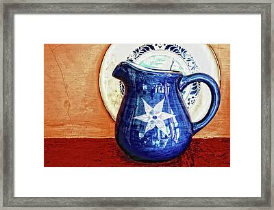 Jug Framed Print by Charuhas Images