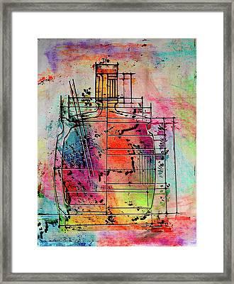 Jug Drawing Framed Print