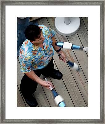 Juggler 6688 Framed Print