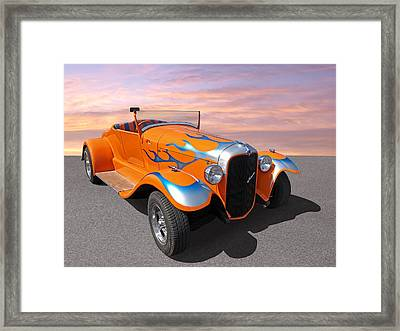 Juiced Framed Print by Gill Billington