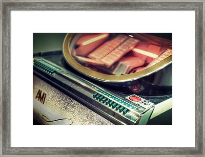 Jukebox Framed Print by Scott Norris
