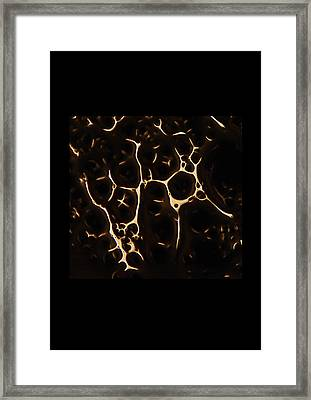 jul 18, 2016, Cells, Framed Print by Nayan Mipun