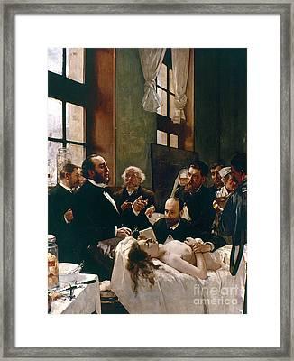 Jules Emile Pean (1830-1898) Framed Print by Granger