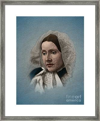 Julia Ward Howe, American Abolitionist Framed Print by Science Source