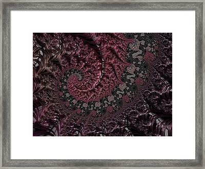 Julia's Heart Framed Print