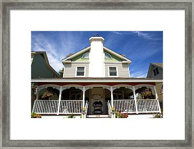 Framed Print featuring the photograph Julia's Of Savannah by John Rizzuto