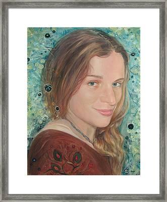 Julie N. Framed Print by A Coudry