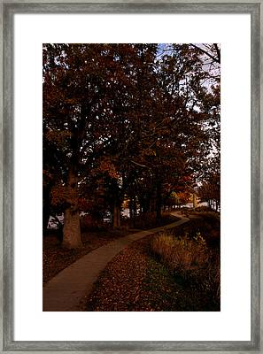 Julien Dubuque Monument Framed Print