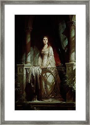 Juliet, 1877 Framed Print by Thomas-Francis Dicksee