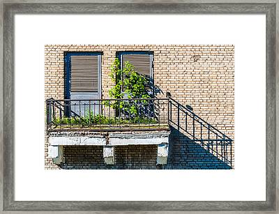 Juliet Does Not Live Here Anymore... Framed Print
