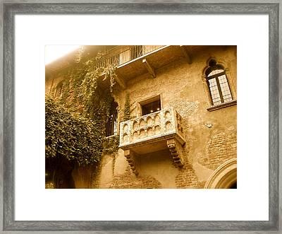 Juliet Framed Print by Santiago Rodriguez